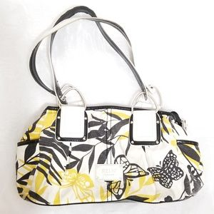 RELIC| Stylish Black, Yellow, White Shoulder Bag